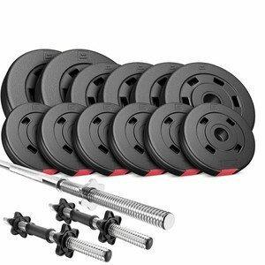HS Nakládací činkový set Premium 38kg