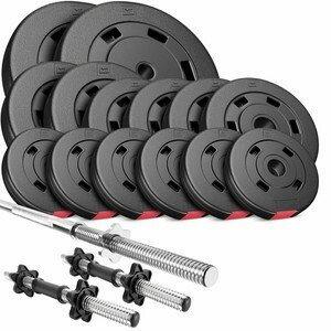 HS Nakládací činkový set Premium 58kg
