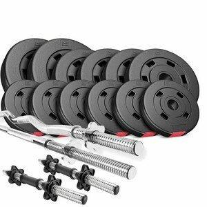 HS Nakládací činkový set Premium 45kg